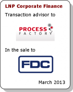 Process Factory sold to FDC